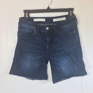 Pilcro & the Letterpress Stet Bermuda Jean Shorts